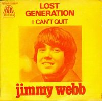 Cover Jimmy Webb - Lost Generation