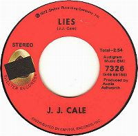 Cover J.J. Cale - Lies