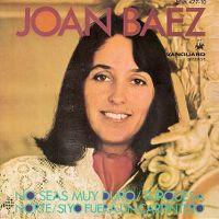 Cover Joan Baez - Be Not Too Hard