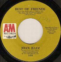 Cover Joan Baez - Best Of Friends