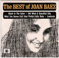 Cover Joan Baez - Black Is The Color Of My True Love's Hair