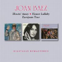 Cover Joan Baez - Blowin' Away / Honest Lullaby / European Tour