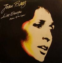 Cover Joan Baez - Europa