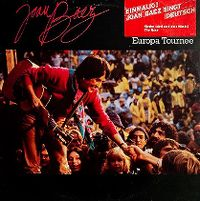 Cover Joan Baez - Europa Tournee