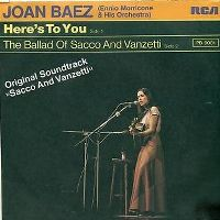 Cover Joan Baez - Here's To You