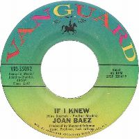 Cover Joan Baez - If I Knew