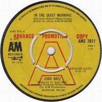 Cover Joan Baez - In The Quiet Morning (For Janis Joplin)