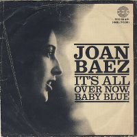 Cover Joan Baez - It's All Over Now, Baby Blue
