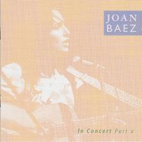 Cover Joan Baez - Joan Baez In Concert Part 2