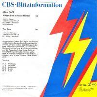 Cover Joan Baez - Kinder (Sind so kleine Hände)
