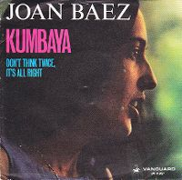 Cover Joan Baez - Kumbaya (In Concert)
