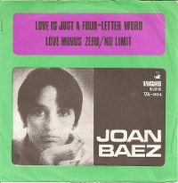 Cover Joan Baez - Love Is Just A Four-Letter Word