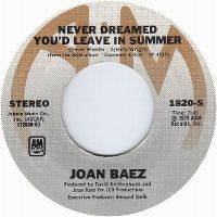 Cover Joan Baez - Never Dreamed You'd Leave In Summer