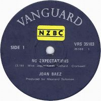 Cover Joan Baez - No Expectations