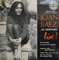 Cover Joan Baez - Oh Freedom (Live)