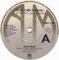 Cover Joan Baez - Please Come To Boston