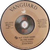 Cover Joan Baez - Put Your Hand In The Hand