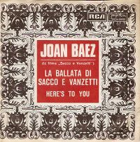 Cover Joan Baez - The Ballad Of Sacco & Vanzetti