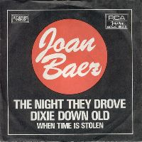 Cover Joan Baez - The Night They Drove Old Dixie Down