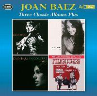 Cover Joan Baez - Three Classic Albums Plus