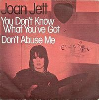 Cover Joan Jett - You Don't Know What You've Got
