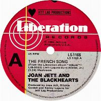 Cover Joan Jett & The Blackhearts - The French Song