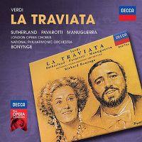 Cover Joan Sutherland / Luciano Pavarotti - La Traviata - Verdi