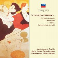 Cover Joan Sutherland / Sumi Jo / Régine Crespin / Plácido Domingo / Ernester Ansermet / Richard Bonynge - The World Of Offenbach