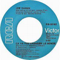 Cover Joe Dassin - Ça va pas changer le monde