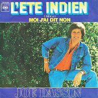 Cover Joe Dassin - L'été indien