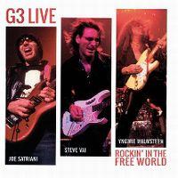 Cover Joe Satriani, Steve Vai, Yngwie Malmsteen - G3 Live - Rockin' In The Free World