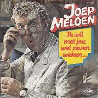 Cover Joep Meloen - Ik wil met jou wel zeven weken...