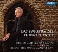 Cover Johannes Martin Kränzle / Hilko Dumno - Das ewige Rätsel - L'enigme eternelle