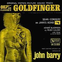 Cover John Barry - Goldfinger