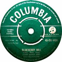 Cover John Barry And His Orchestra - Blueberry Hill