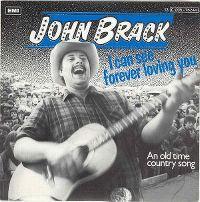 Cover John Brack - I Can See Forever Loving You