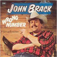 Cover John Brack - Wrong Number