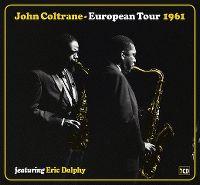 Cover John Coltrane - European Tour 1961