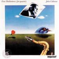Cover John Coltrane - First Meditations