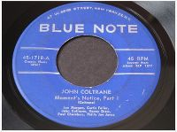 Cover John Coltrane - Moment's Notice