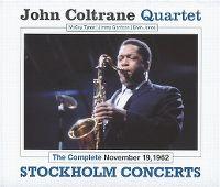 Cover John Coltrane Quartet - Stockholm Concerts