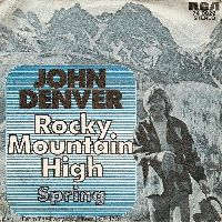 Cover John Denver - Rocky Mountain High