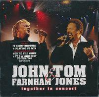 Cover John Farnham & Tom Jones - Together In Concert