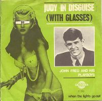 Cover John Fred & His Playboy Band - Judy In Disguise (With Glasses)