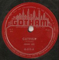 Cover John Lee - Catfish