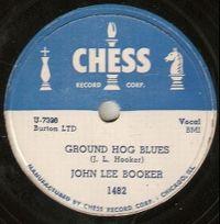 Cover John Lee Booker - Ground Hog Blues