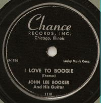 Cover John Lee Booker - I Love To Boogie