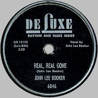 Cover John Lee Booker - Real, Real Gone