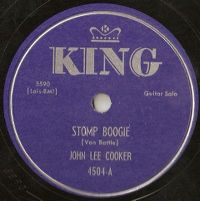 Cover John Lee Cooker - Stomp Boogie
