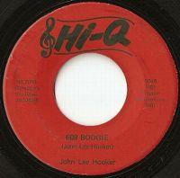 Cover John Lee Hooker - 609 Boogie